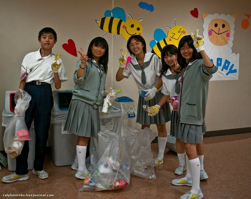 Осенний фестиваль в японской школе