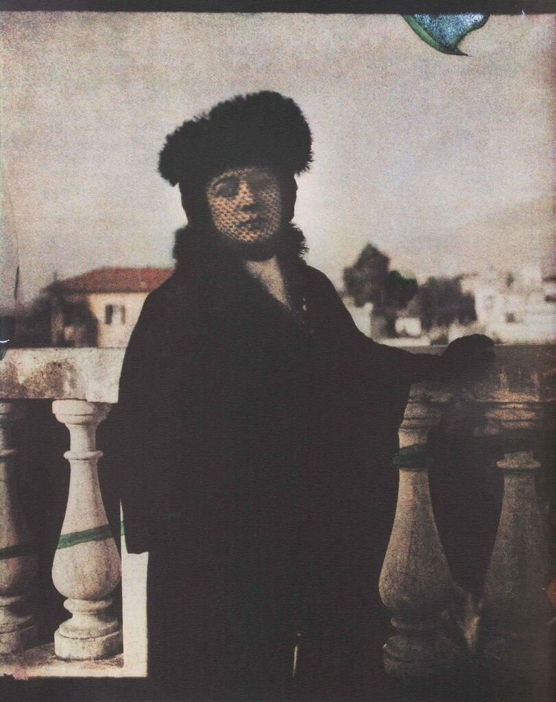 Анна Андреева в Риме, 1914 г.jpeg
