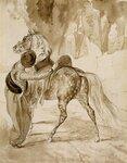 Турок, садящийся на коня (1835) (4,07 МБ).jpg