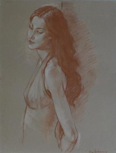 artist, katya gridneva, painter, painting, picture, девушка,  женский образ, женщина, женщина живопись, картина, картины, катя гриднева,  современный