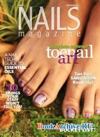 Журнал Nails Magazine - July 2012.
