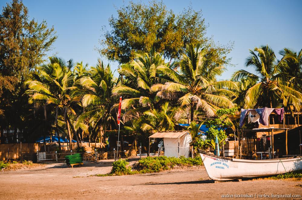 Индия, Гоа, Северный Гоа, пляж Морджим, Morjim