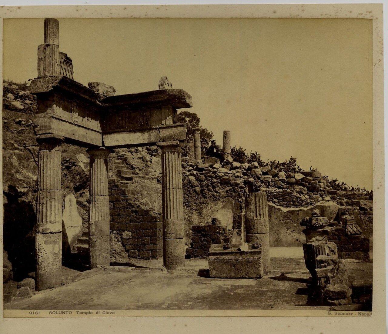 Солунт. Храм Юпитера