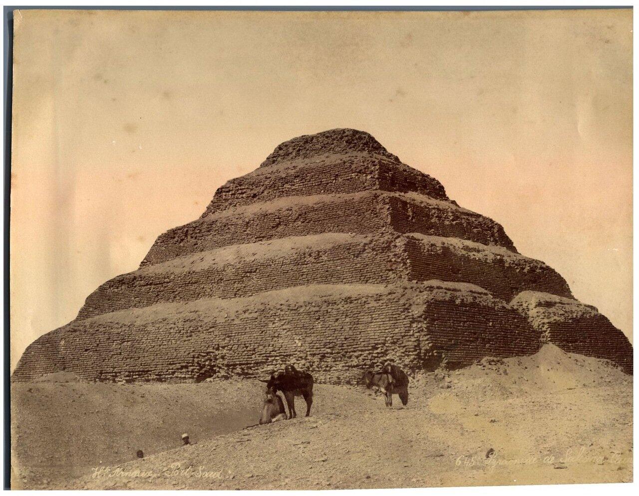 Саккара. Ступенчатая пирамида