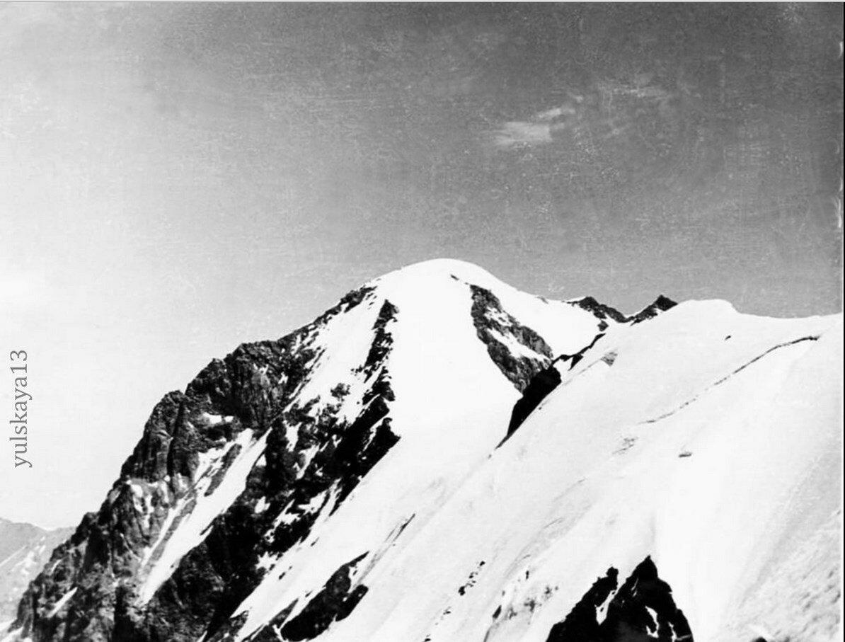 23. Вершина Металлург. Высота 4800 метров. Август 1957