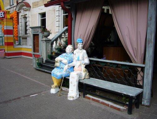 Скульптура на улицах новосибирска