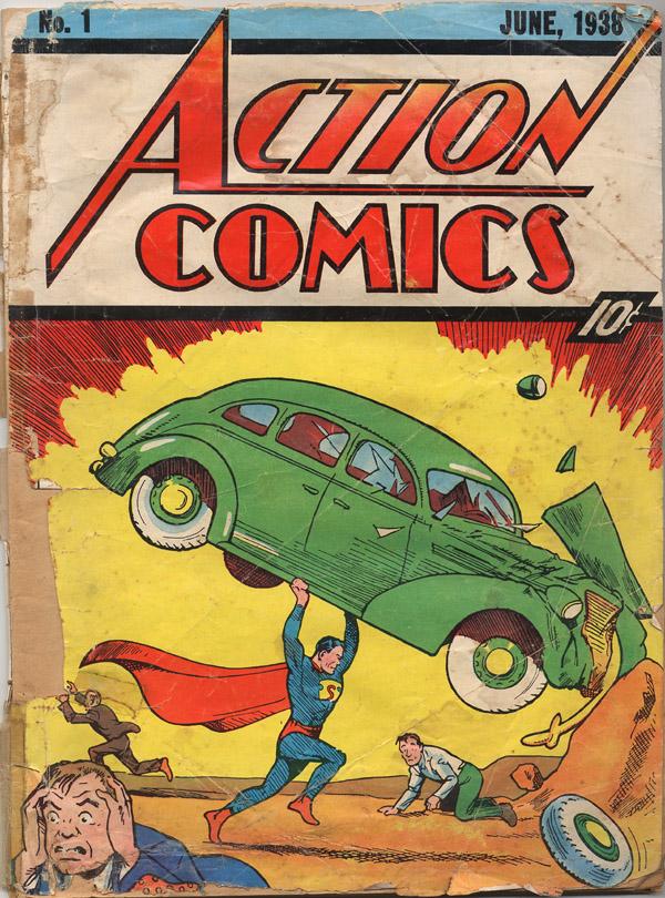 Action Comics, No. 1 - первый комикс про Супермэна