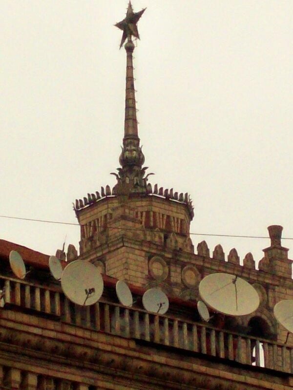 Крыша дома на Крещатике