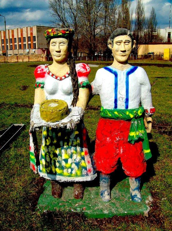 Скульптура Украинское гостеприимство