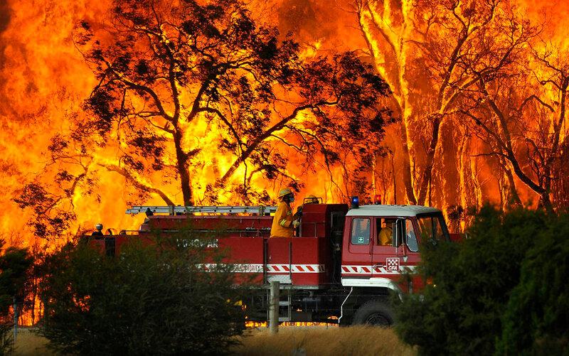 Пожары в Виктории, Австралия