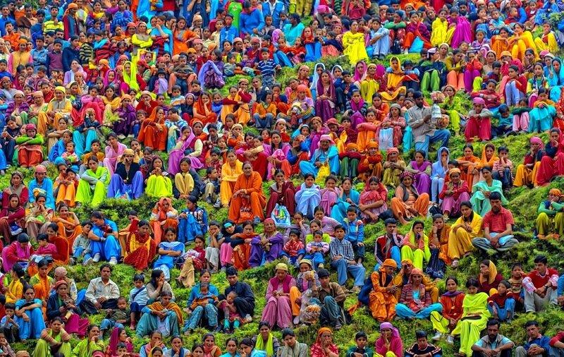 Разноцветная Индия