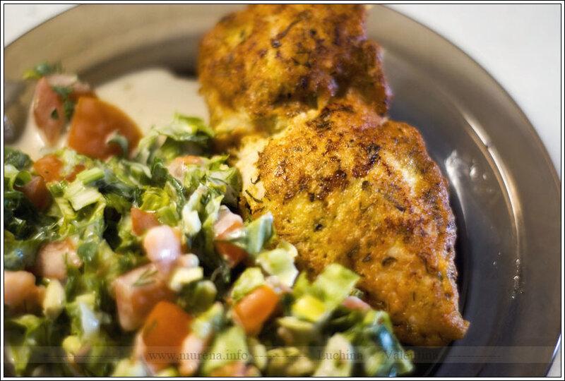 Куриное филе в кляре+соус 1000 островов(