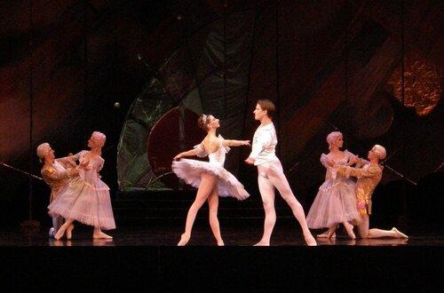 """Балет """"Щелкунчик"""". Анна Жарова и Андрей Матвиенко."""