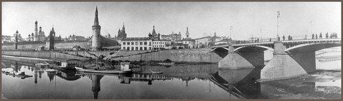 Вид на Кремль из Замоскворечья