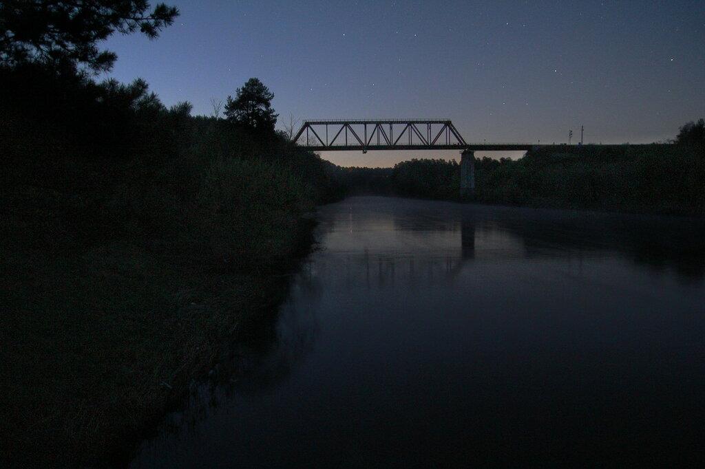 Железнодорожный мост над рекой Ай