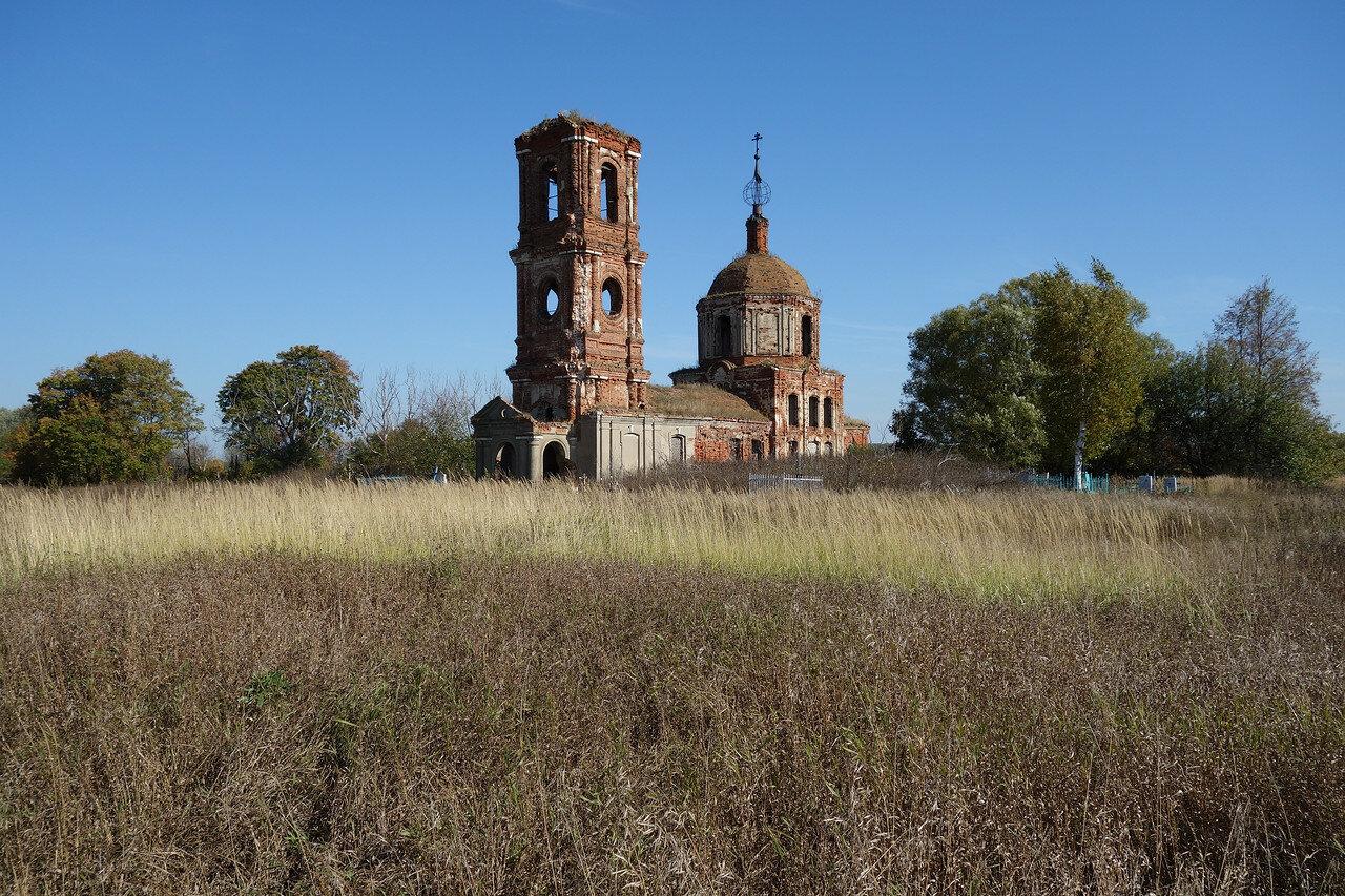 храм, тут было Дымово-Волконское