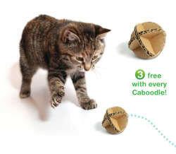 Кошачьи домики из картона