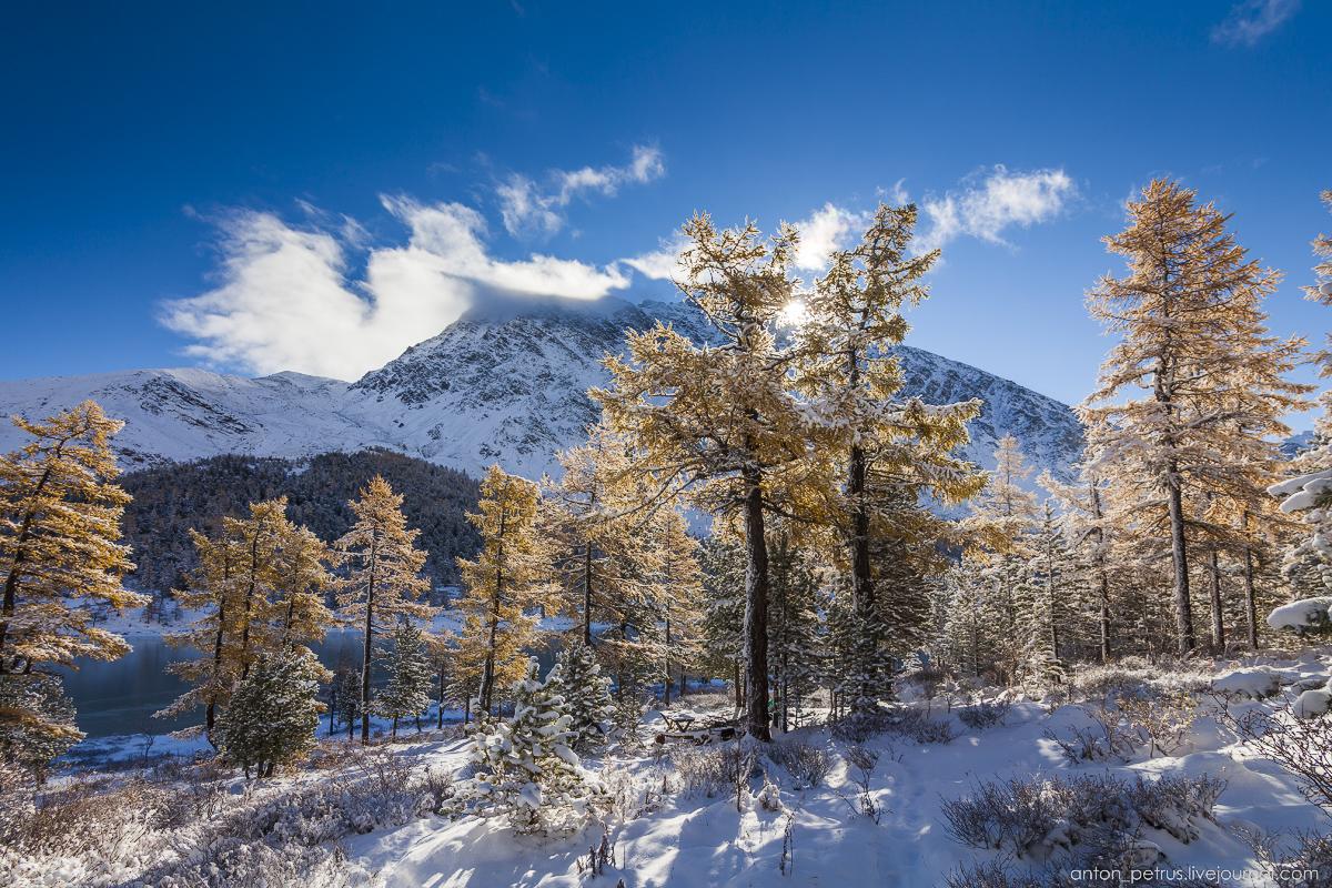 Зимний Алтай в сентябре