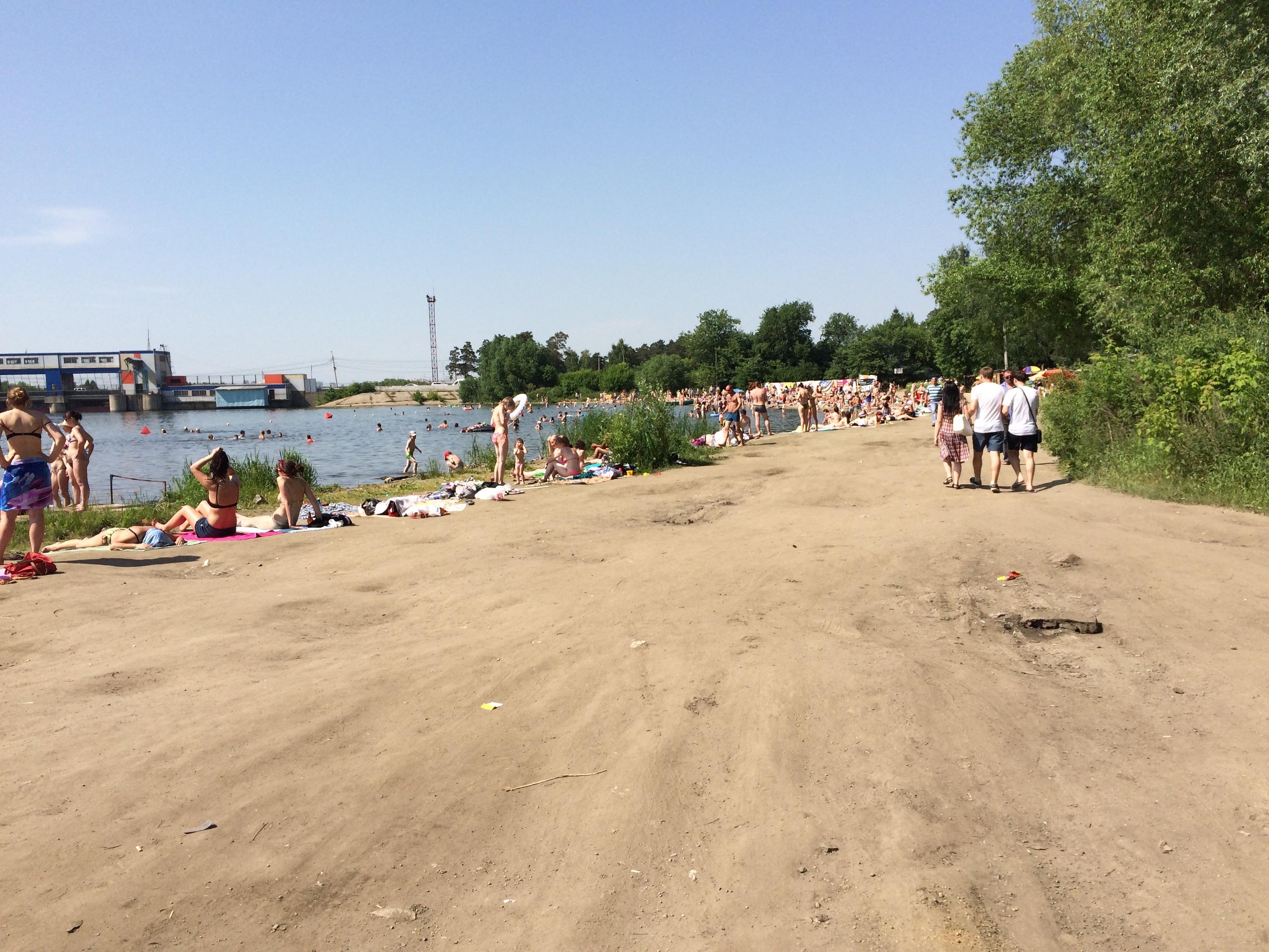 Дикий пляж на Шершнях  (22.06.2015)