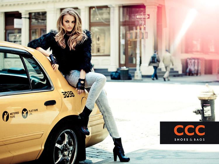 Анна Мария Ягодзинска в рекламе CCC