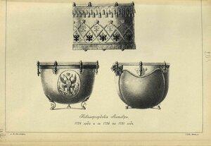 205. Кавалергардские Литавры, 1724 года и с 1726 по 1731