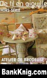 Журнал De fil en Aiguille HS 22 - Atelier brodeuse jpg 20,16Мб