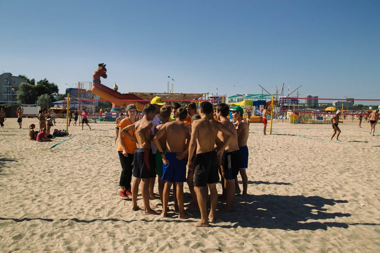 День спорта в Анапе