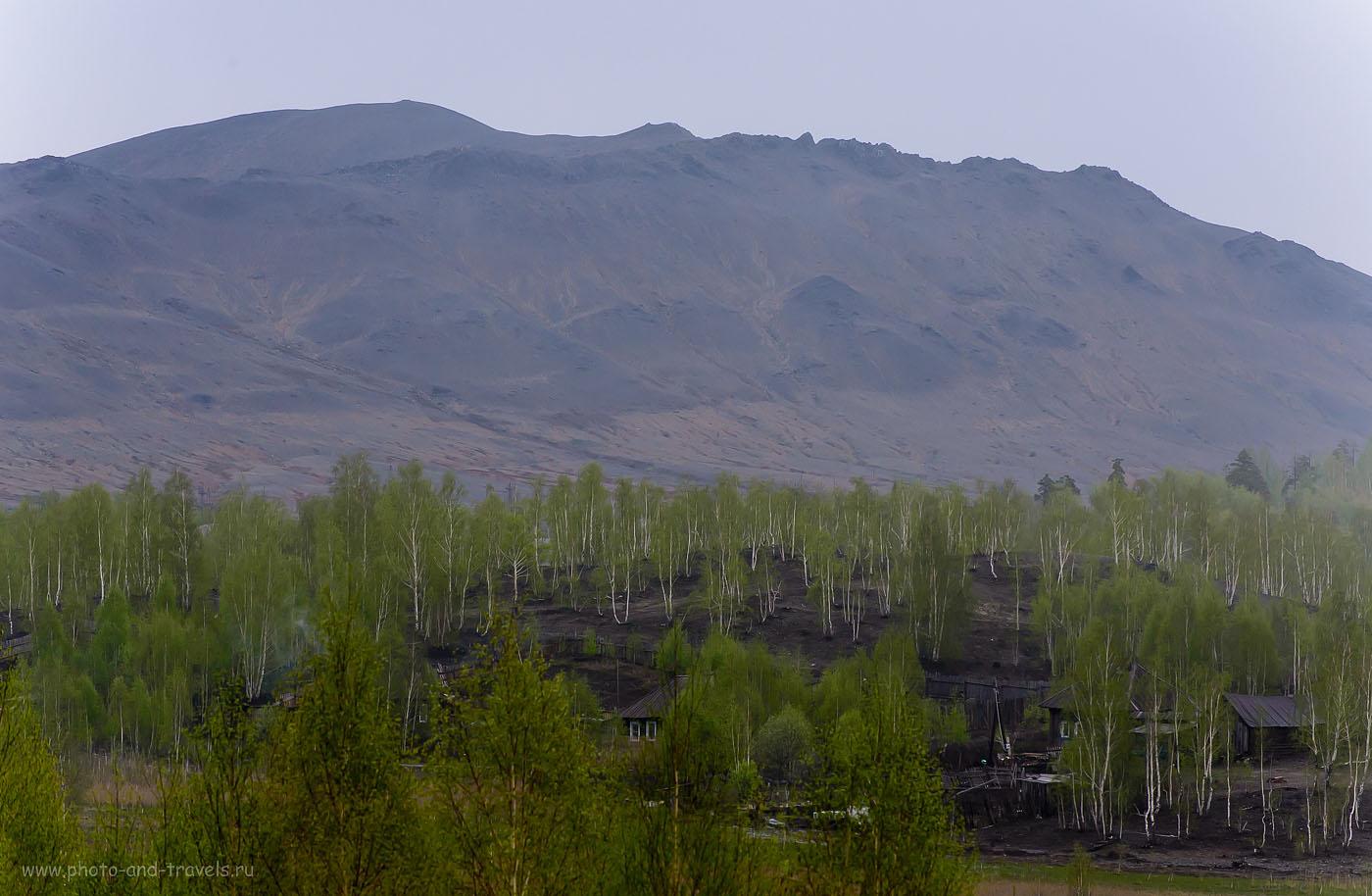 4. Безжизненный пейзаж на горе у города Карабаш (1250, 165, 8.0, 1/500)