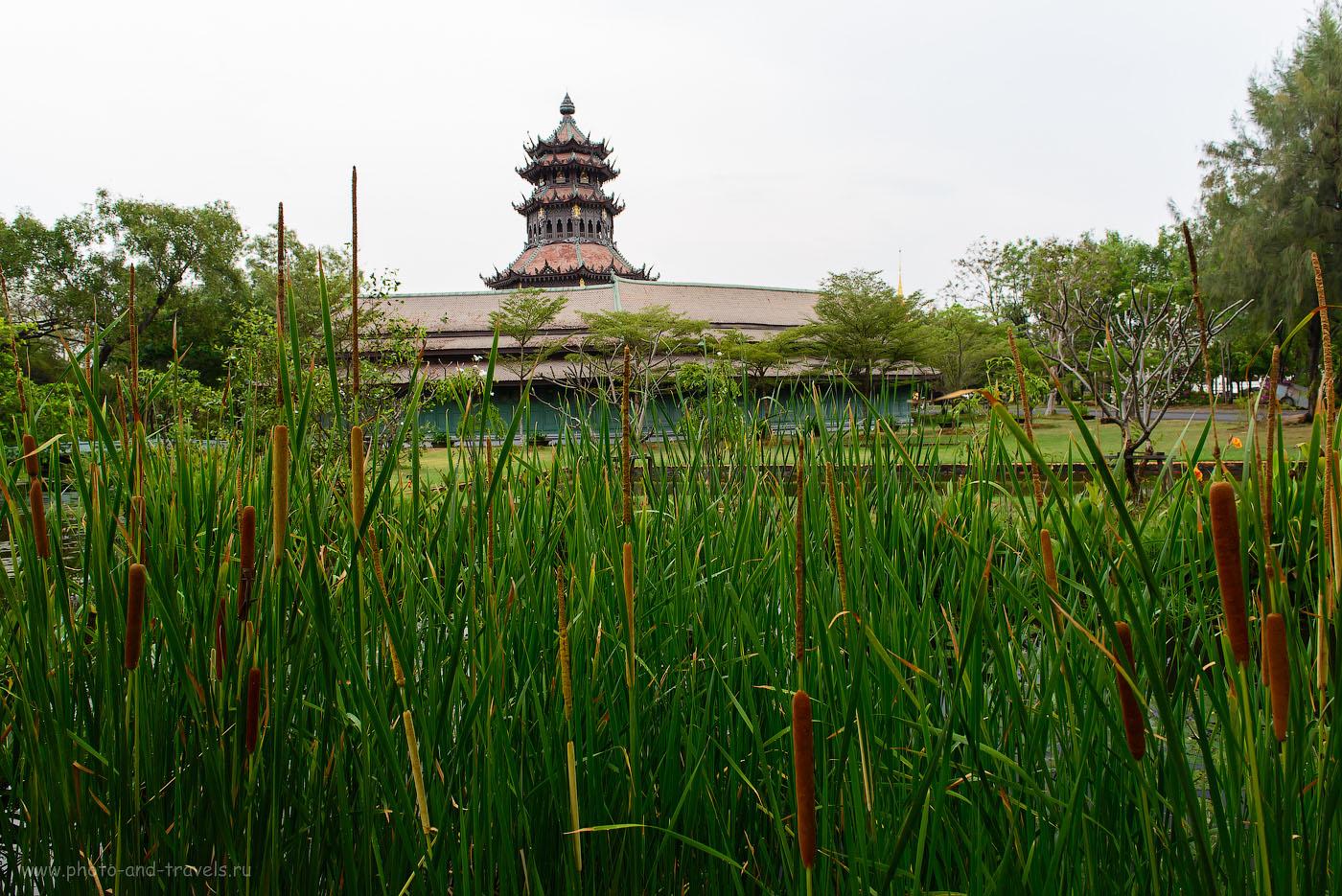 Фото 2. Рассказ об отдых в Таиланде. Поездка в парк Муанг Боран на окраине Бангкока. Phra Kaew Pavilion, 250, 24, 8.0, 1/80