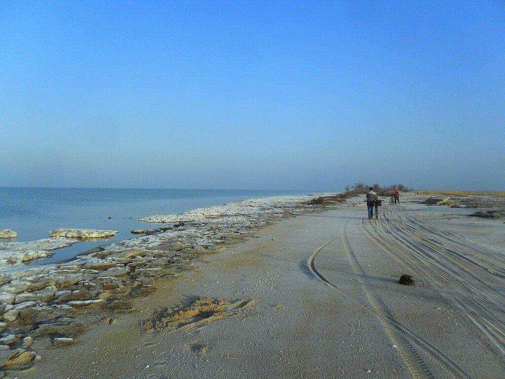 След на январском песке ... SAM_5221.JPG