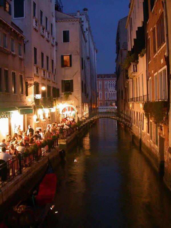 Романтика. Ключевые слова. ночь. Венеция. Венецианская ночь