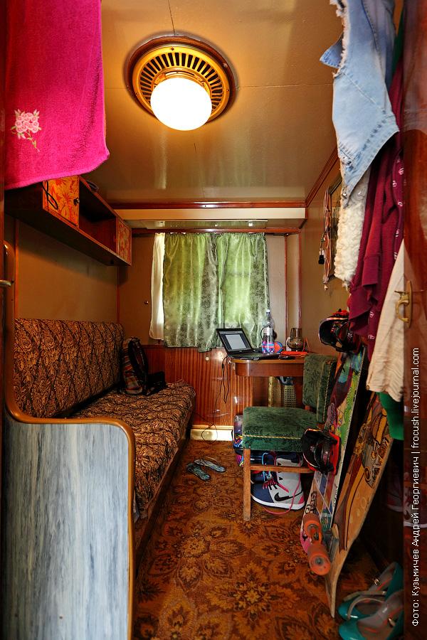 Одноместная каюта №13 на шлюпочной палубе теплохода Александр Фадеев
