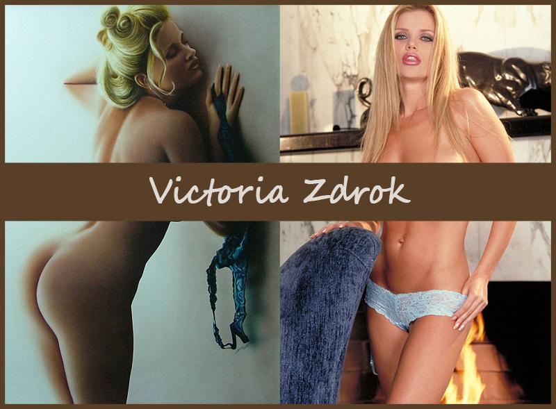 Американская модель украинского происхождения Victoria Zdrok (Виктория Здрок)
