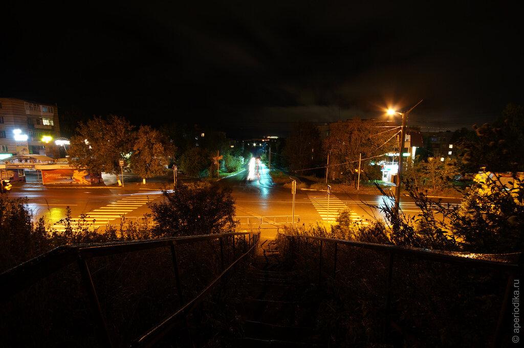 Ночной Златоуст. Район машзавода