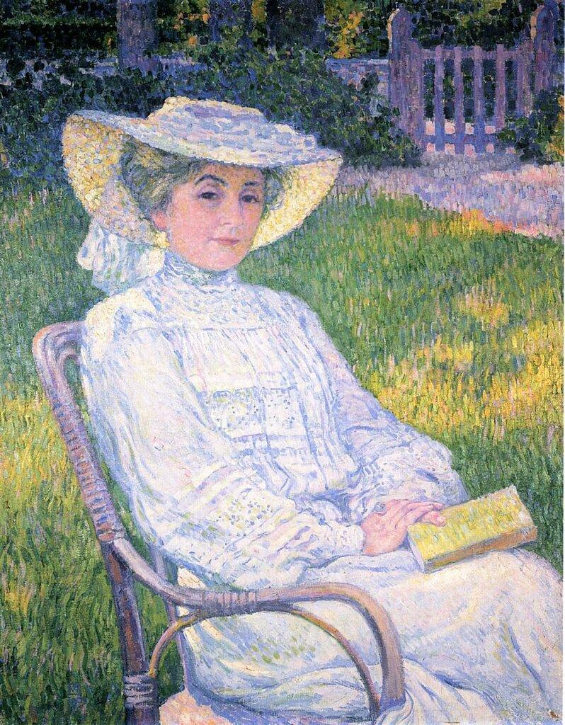 Madame Theo van Rysselberghe in the Garden, 1904.jpeg