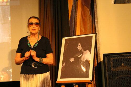 Асия Хайретдинова. Вечер, посвящённый Анне Марли  в Бахрушинском музее 29 апреля 2015 года
