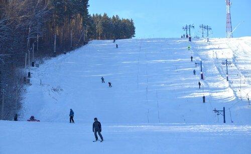 Горные лыжи в Белокурихе