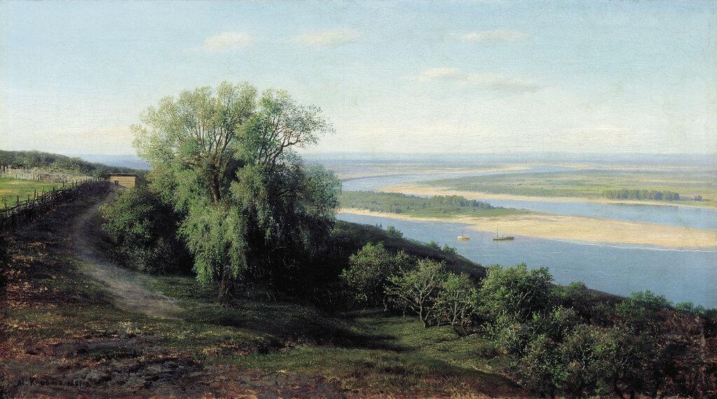 0445.Klodt.Mihail.Konstantinovich.Volga.pod.Simbirskom.1881.holst.maslo.64h115.sm.jpg