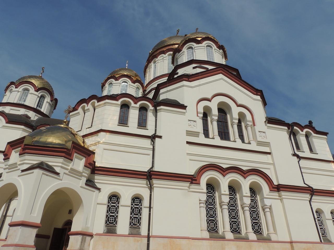Абхазия Новоафонский монастырь Храм 14 марта 2015 г., 15-44.JPG