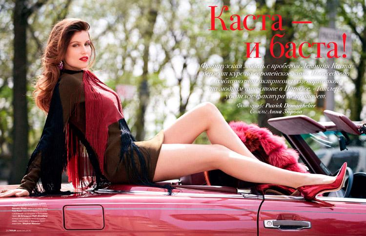 Летиция Каста (Laetitia Casta) в журнале Tatler Russia