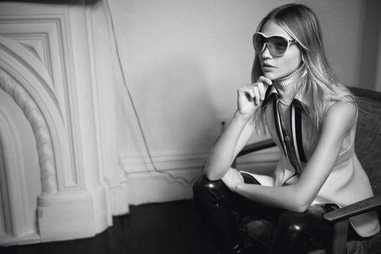 Саша Пивоварова (Sasha Pivovarova) в журнале i-D Magazine