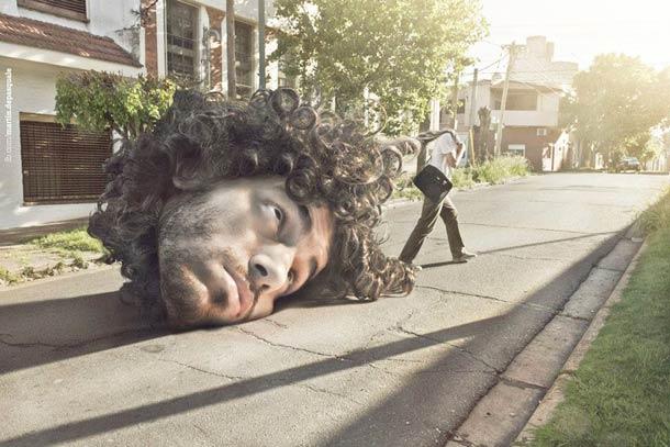 Забавные сюрреалистические изображения Martin De Pasquale