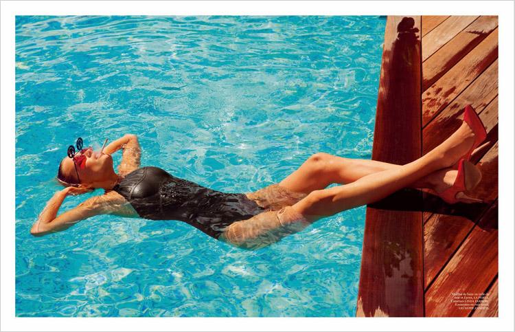 Наташа Поли в июньском номере Vogue Paris 2014