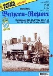 Журнал Eisenbahn Journal Archiv: Bayern-Report №7