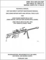 Книга Technical Manual Long Range Sniper Rifle, M107, USMC Special Application Scoped Rifle (SASR).