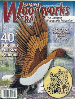 Журнал Журнал Creative Woodworks & Crafts №1 2005