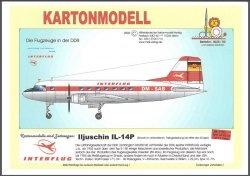 Журнал Iljuschin IL-14P Interflug / Ильюшин  Ил-14П [MDK]