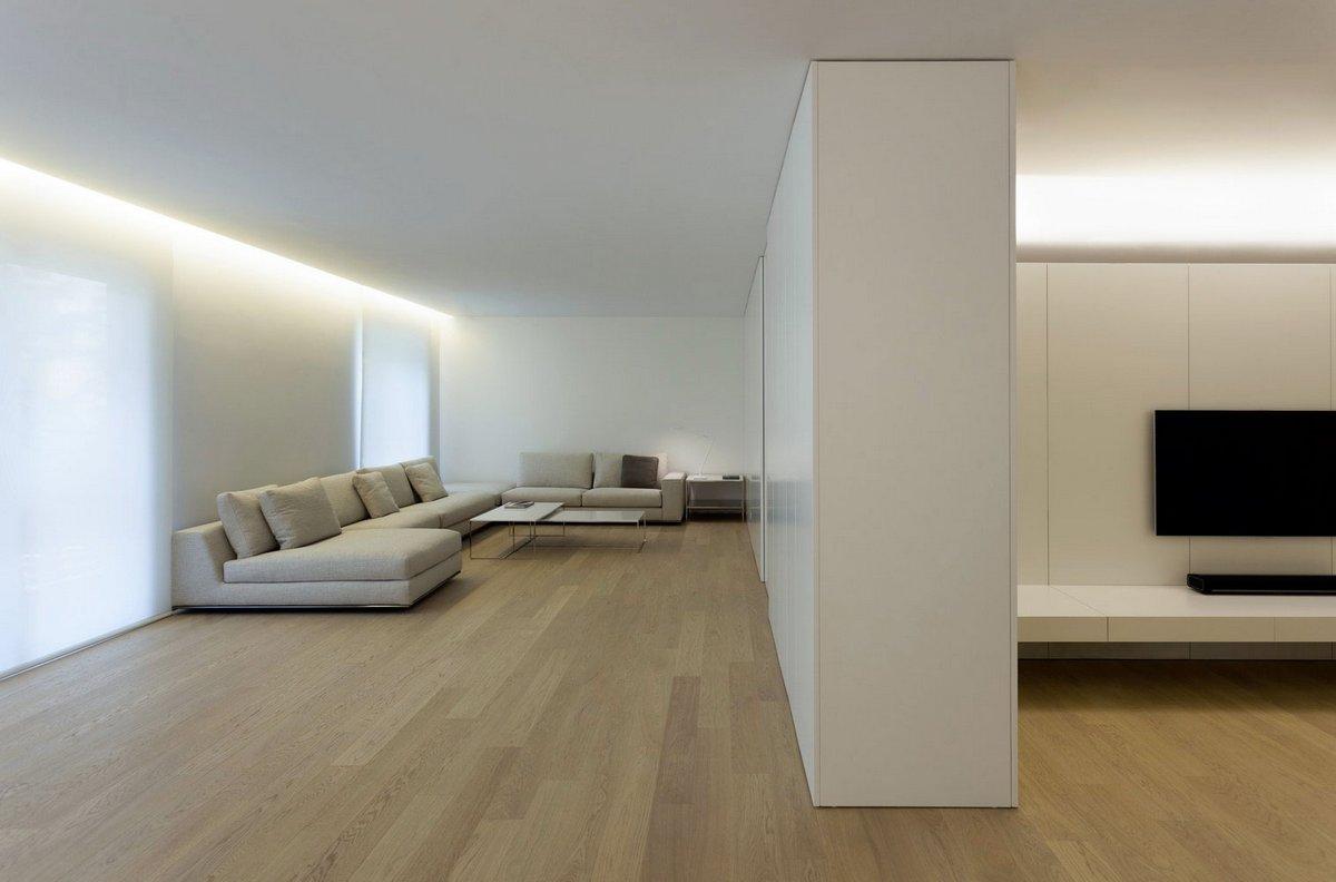 Antiguo Reino, квартиры в Испании фото, светлый интерьер квартиры фото, теплый интерьер квартиры, пример дизайна квартиры, Fran Silvestre Arquitectos