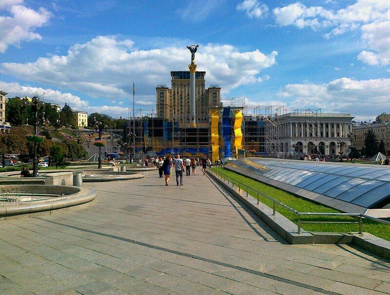 Майдан Незалежности киев украина