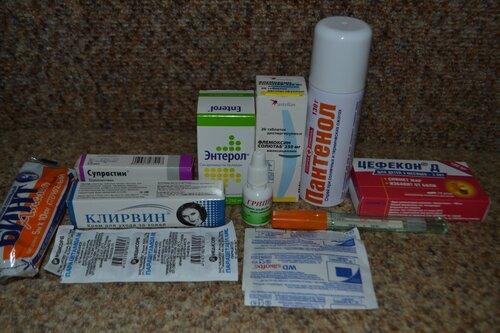 Аптечка в Тайланд